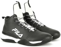 Fila BALLER MID Basketball Shoe For Men(Black)