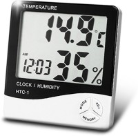 SIMMANS INTERNATIONAL SMS-HDM Hygrometer Humidity Meter with Temperature Thermometer(White, Black)