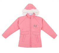 Gini & Jony Full Sleeve Solid Girls Jacket