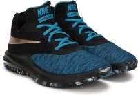 Nike Air Max Infuriate III Low Basketball Shoes For Men(Black, Blue)