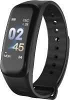 Enew C1p fitness health n sport Smart Band(Black Strap, Size : Free size)