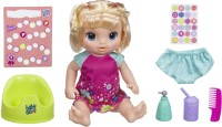 Baby Alive Potty Dance Baby : Doll That Pees on Her Potty Chair, for Girls and Boys 3 Years Old And Up(Multicolor)