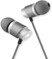 TIZUM Professional All-Metal Wired Headset with Mic(Space Grey, In the Ear)