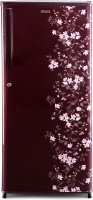 MarQ by Flipkart 195 L Direct Cool Single Door 3 Star Refrigerator(Wine Red, MDCR195PG)