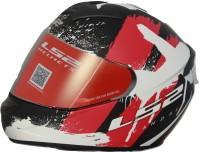LS2 Vandal Gloss Black Red White Motorbike Helmet(Black, Red, White)