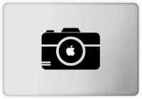 Rawpockets Apple camera Laptop Sticker PVC Vinyl Laptop Decal 1.6440000000000001