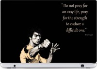 Rawpockets Bruce Lee Quote Made from Premium quality brand Avery Dennison PVC Vinyl Laptop Decal 26