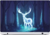 Rawpockets FLAMING DEER Made from Premium quality brand Avery Dennison PVC Vinyl Laptop Decal 26