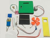 project hub 7 in 1 Solar Science activity kit, Wind and Solar power generation kit Educational Electronic Hobby Kit