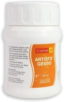Camlin ARTISTS WHITE GESSO PRIMER (500ML) White Gesso for Canvas(Semi-liquid 500 ml)