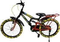 Atlas Muzzle Bike For Kids Of Age 5-8 Yrs Black & Yellow 20 T Recreation Cycle(Single Speed, Multicolor)