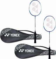 Yonex ZR 100 LIGHT Blue Strung Badminton Racquet(Pack of: 2, 400 g)