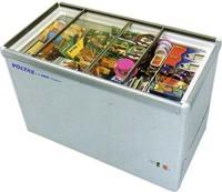 Voltas 50 kg Double Door Standard Deep Freezer(White, 405 GSL)