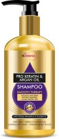 StBotanica Pro Keratin & Argan Oil Smooth Therapy Shampoo, 300ml - Intense Hair Repair For Dry, Damaged & Color Treated Hair, No Parabens, Silicons or SLS/Sulphate(300 ml)