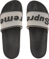 Orysta Men Black Slides