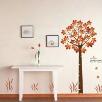 Zenuss Standard wall sticker(Orange)
