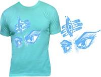 Casotec Denim Supply Custom Printed Designer Polyester Sports Round Neck T-Shirt - White