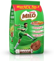 Nestle MILO Activ-Go Powder Pouch Nutrition Drink(400 g, Chocolate Flavored)