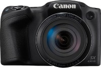 Canon PowerShot SX430B 20MP Digital Camera with 45x Optical Zoom ( 24 - 1080mm Point & Shoot Camera(Black)