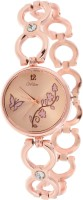 Wilton Butterfly and Floral Design Dial Rose Gold Watch for Girls and Women's bh-56 Analog Watch  - For Girls