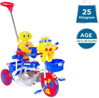 MeeMee Premium 2 in 1 Baby Tricycle with Rocker (Blue) 8904146710248 Tricycle(Blue, Yellow)