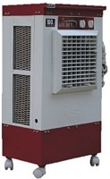 Golden 25 L Tower Air Cooler(White, Maroon, Submersible Pump With Fix Wheel Model- Ipc-Mini Long,White MAROON)