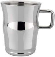 RISHI METAL RISHI Metal Stainless Steel Cup Steel(Steel, Pack of 6)
