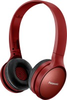 Panasonic RP-HF410BGCR Bluetooth Headset(Red, Black, On the Ear)