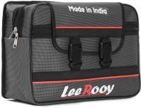 LeeRooy One-side Grey Fabric Motorbike Saddlebag(20 L)