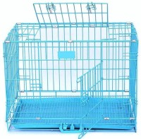 SRI Blue 42 inches double door Dog cage Dog House