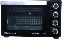 Singer 40-Litre MAXIGRILL 4000 RC ( SOT 400 MBT ) Oven Toaster Grill (OTG)(Black)