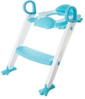swabs Baby Toilet Trainer Chair Ladder Potty Seat Potty Seat(Multicolor)