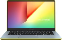 Asus VivoBook S Series Core i5 8th Gen - (8 GB/1 TB HDD/256 GB SSD/Windows 10 Home) S430FA-EB031T Thin and Light Laptop(14 inch, Silver Blue -Yellow, 1.40 kg)