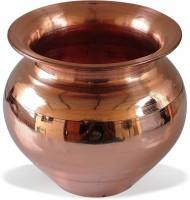 Bansiwal Handmade Copper Kalash, Brown / 3.5 inches Copper Kalash(Brown)
