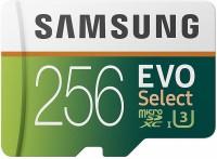 Samsung Ultra 256 GB MicroSDXC UHS Class 3 100 MB/s  Memory Card
