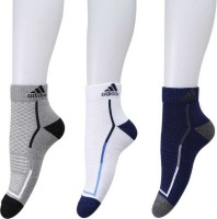 ADIDAS NEO Men's Self Design Ankle Length(Pack of 3)