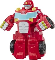 Transformers Heroes Rescue Bots Academy Heatwave the Fire-Bot Converting, 4.5-Inch Figure, For Kids Ages 3 and Up(Multicolor)
