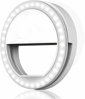 IMMUTABLE Advance Rechargeable Selfie Enhancing Portable Ring Light 1 lx Camera LED Light(Batteries Included)