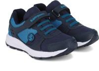 Bubblegummers Boys Velcro Sneakers(Blue)