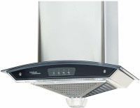 Hindware 60cm 1000 m3 hr Auto Clean Chimney Auto Clean Wall Mounted Chimney(Grey 1200 CMH)