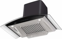 Hindware Chimney Cleo Heat Autoclean 60cm 1200m3 hr Stainless Steel Auto Clean Wall Mounted Chimney(Black 1200 CMH)