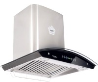 Hindware 60cm 1200 m3 hr Auto Clean Chimney Auto Clean Wall Mounted Chimney(Grey 1200 CMH)