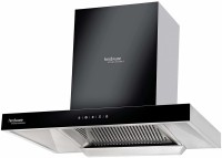 Hindware 60 cm 1200 m³ HR  Angular Kitchen Chimney Auto Clean Wall Mounted Chimney(Black 1200 CMH)