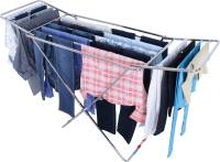 LIMETRO STEEL Steel Floor Cloth Dryer Stand SS-CKLOTH-STAND-PIPE