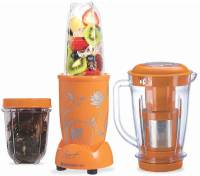 Wonderchef Nutri-blend With Juicer attachment (Yellow) 400 Juicer Mixer Grinder