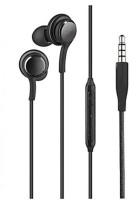 techobucks AKG Smartphone Wired Headset with Mic Black, In the Ear Wired Headset with Mic (Black, In the Ear) Bluetooth Headset with Mic(Black, In the Ear)