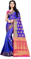 Manikarnikia Blue sari