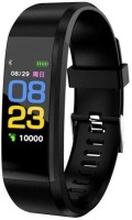 Aspire AS 01 ID115 Bracelet Heart Rate Monitor(Black Strap, Size : Regular)