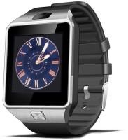 VibeX ™Smart Watch dz09 with Camera Bluetooth Gold-0051 Smartwatch(Black Strap, Free Size)