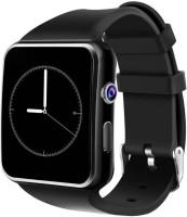 K V ELECTRONICS Square Dial Wrist SmartWatch Black Smartwatch(Black Strap, FREE SIZE)